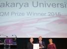 """Sakarya Üniversitesine """"Avrupa Mükemmellik Ödülü"""""""