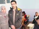 Suriyeli öğretmen çiftin buruk sevinci