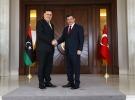 Davutoğlu, Libya Ulusal Birlik Hükümeti Başbakanı ile görüştü