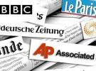 Terör Saldırılarına Batı Medyasından Destek