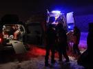 Karlıova'da karda mahsur kalan hasta anne ve çocuğu kurtarıldı