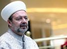 Görmez, Sultanahmet Camisi'nde hutbe verdi