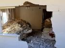 Mersin Erdemli'de Eve Kaya düştü