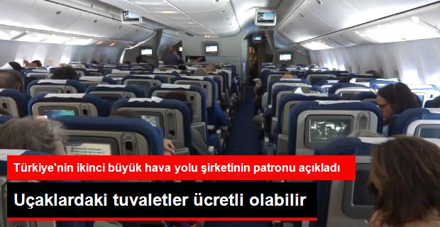 Uçakta Tuvaletler Ücretli Olabilir