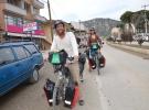 Çin'e ulaşmak için pedal çeviriyorlar