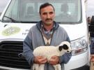 Yangında hayvanları telef olan çiftçiye büyük hediye