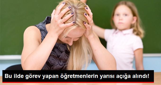 Tunceli'de Görev Yapan Öğretmenlerin Yarısı Açığa Alındı