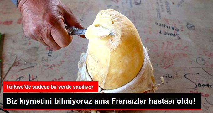 """""""Türk Rokforu"""" Fransızların da İlgisini Çekti"""