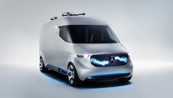 Mercedes-Benz Vision Van Duyuruldu!