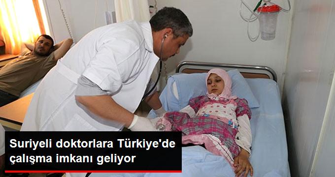 Suriyeli Hekimlere Çalışma İzni Verebilir Durumdayız