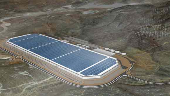 Tesla'nın Batarya Fabrikası 2500 Eve Elektrik Verecek!