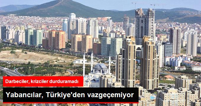 Yabancı Yatırımcı Türkiye'de Gayrimenkulden Vazgeçmedi
