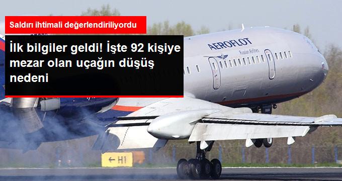 92 Kişiye Mezar Olan Rus Uçağı Neden Düştü?