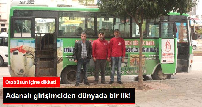 Adanalı Girişimciden Bir İlk: Otobüste Mobil Kesimhane