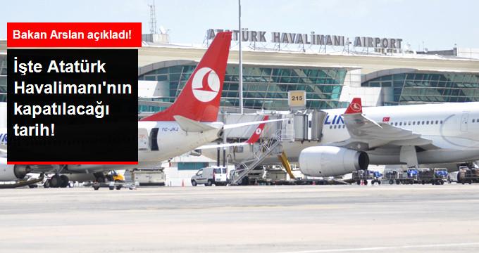 Atatürk Havalimanı Kademeli Olarak Kapanacak