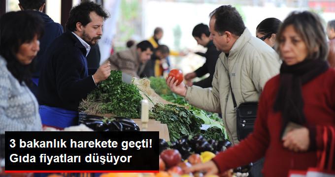 Gıda Fiyatlarının Düşürülmesi için Çalışma Başlatıldı