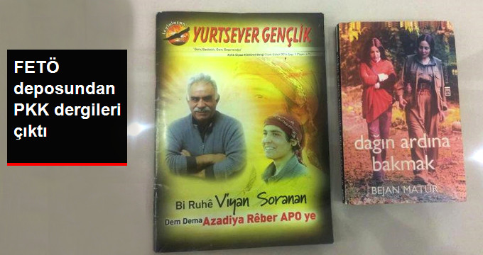 FETÖ Depolarında PKK Yayınları Ele Geçirildi