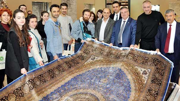 Türk Halısı 171 Ülkeye Serildi