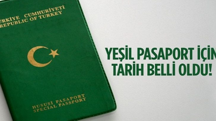 17 Bin İhracatçıya Yeşil Pasaport