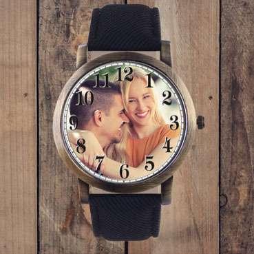 Hediyelik Resimli Sevgili Saatleri