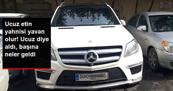 Ucuz Diye Irak'tan Aldığı Araç Çalıntı Çıktı
