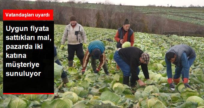 Kışlık Sebze Üreticileri Raftaki Fiyatlardan Şikayetçi