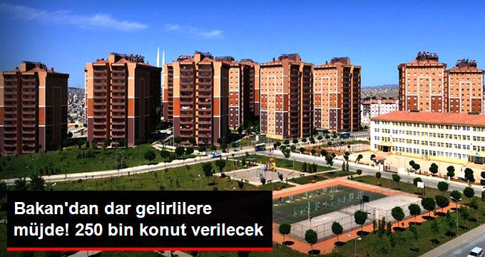 Bakan Özhaseki: İstanbul'a 250 Bin Konut Yapacağız