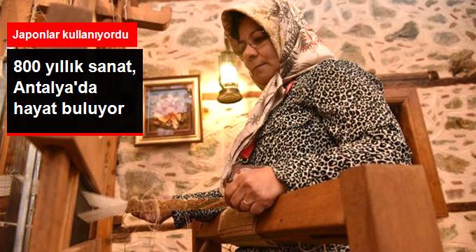 800 Yıllık Sanat Muz Lifi Üretimi Antalya'da Hayat Buluyor