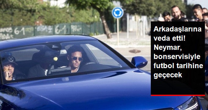 Neymar PSG Takımına Transfer Oldu