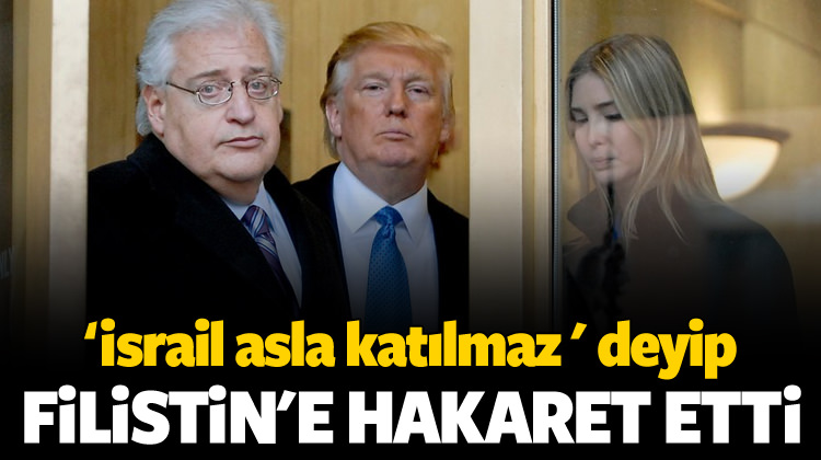 ABD'den Filistinlilere Hakaret