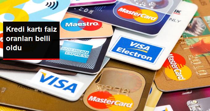 Kredi Kartları Faiz Oranı Değişmedi