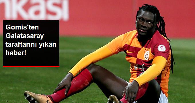 Galatasaray'da Gomis Kayserispor Kadrosuna Alınmadı