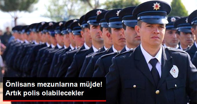 Önlisans Mezunları Artık Polis Olabilecek