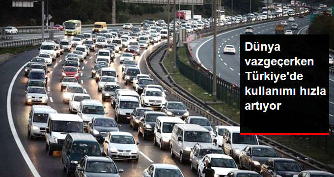 Türkiye'de Dizel Araç Tercihi Hız Kesmeden Artıyor