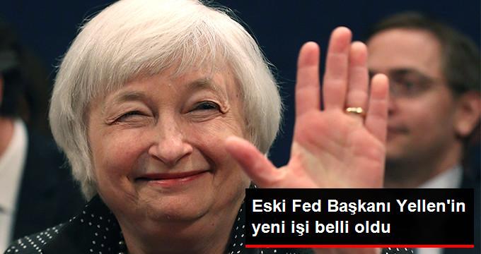 Yellen Brookings Enstitüsü'nde Görev Alacak