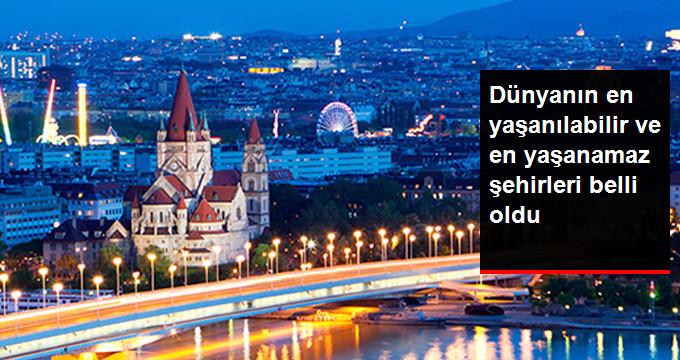 Dünyanın En Yaşanılabilir Şehri Yine Viyana Oldu