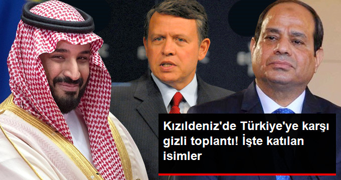 Türkiye ve İran Karşıtı Gizli Toplantı Yapıldı