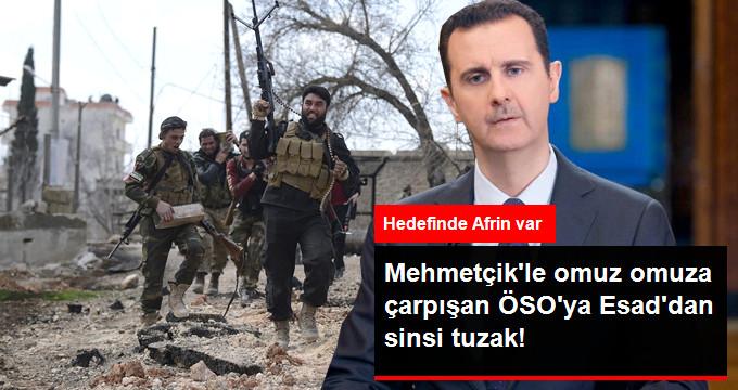 Esad Rejimi Afrin Operasyonunu Sekteye Uğrattı