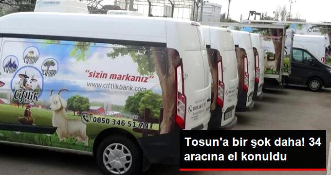 Bursa'da Çiftlik Bank'ın 34 Aracına Savcılık El Koydu