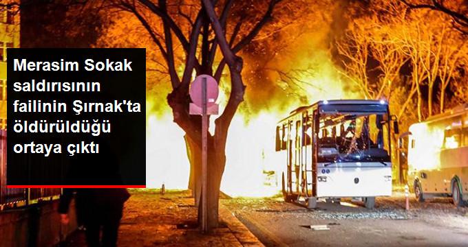 Merasim Saldırısının Failinin Şırnak'ta Öldürüldüğü Anlaşıldı