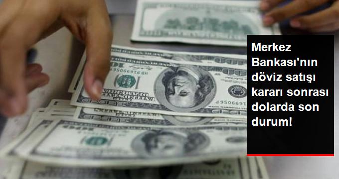 Merkez Bankası'nın Döviz Satışı Kararı Sonrası Dolarda Son Durum!
