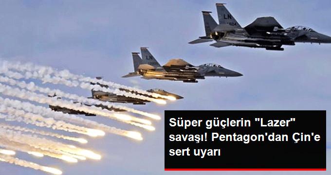 ABD Uçakları Çin Üssünden Lazerle Taciz Edildi!