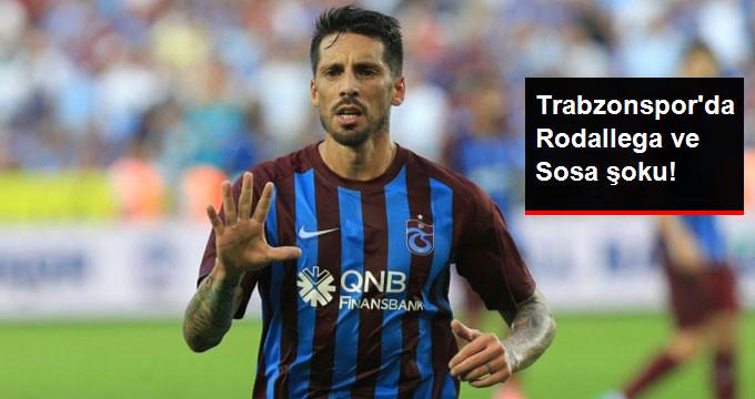 Trabzonspor'da Rodallega ve Sosa Antrenmana Katılmadı