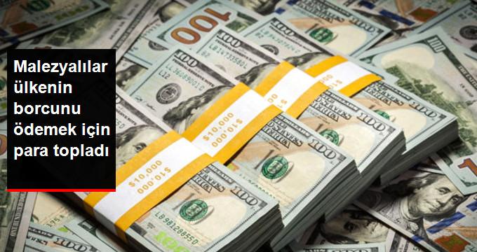 Malezyalılar Ülke Borcunu Ödemek İçin 33 Milyon Dolar Topladı