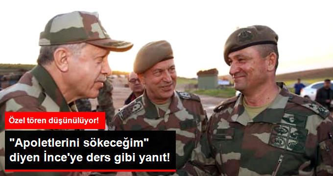 Korgeneral Temel'in Yeni Rütbesini Erdoğan Takacak