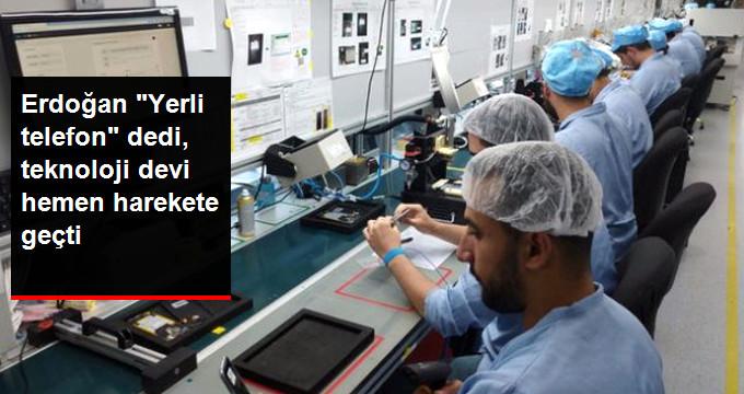 General Mobile 100 Milyon TL'lik Telefon Fabrikasını Hizmete Soktu