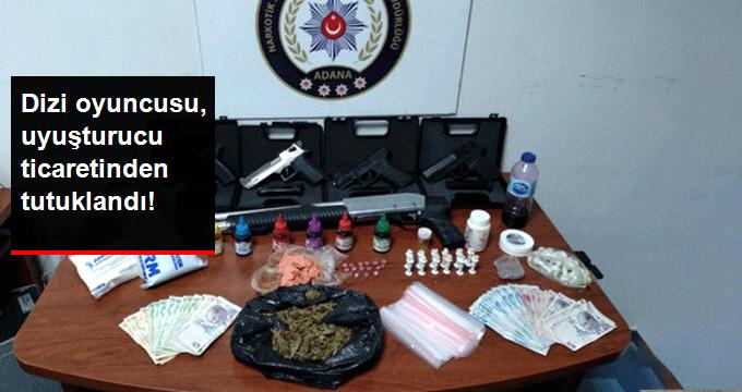Dizi Oyuncusu Uyuşturucu Ticaretinden Tutuklandı