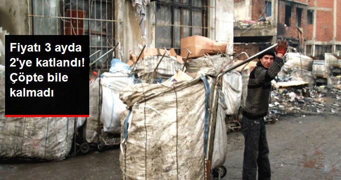 Kağıdın Fiyatı Pahalanınca Çöpte Hurdası Bile Kalmadı