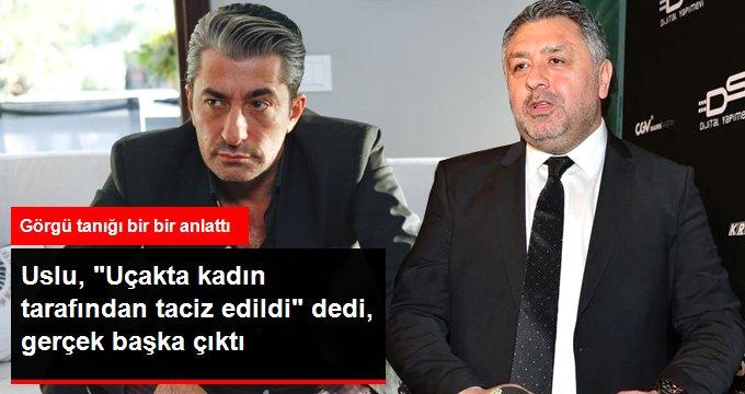 """""""Erkan Petekkaya Uçakta Tacize Uğradı"""" Demişti"""