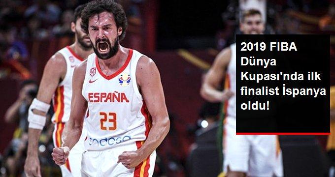 2019 FIBA Dünya Kupası'nda Avustralya'yı yenen İspanya finale çıktı
